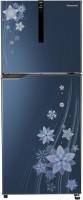 Panasonic 307 L Frost Free Double Door 3 Star Refrigerator(Flower Blue, NR-BG311VPA3)