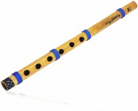 SG MUSICAL 13 Inch Authentic Indian Wooden Bamboo Flute in 'C' Key Fipple Woodwind Musical Instrument Bamboo Flute(38 cm)