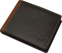 CADROHIDES Men Black Genuine Leather Wallet(9 Card Slots)