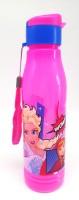 SKI Big School water bottle With frozen Art 700 ml Water Bottle(Set of 1, Pink)