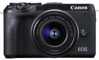 Canon M6 Mark II Mirrorless Camera with 15-45 lens(Black)