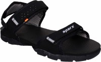 Sparx SS-119 Men Black, Grey Sandals