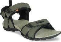 Sparx Men Olive, Black Sandals
