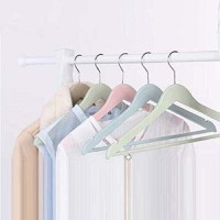 ANH MART Plastic Pack of 5 Hangers(Multicolor)
