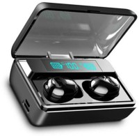 blue seed BBD-T8 True wireless Earbuds with Charging Power Bank Bluetooth Headset with Mic(Black, In the Ear)