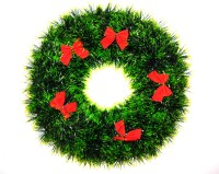 ONRR COLLECTIONS Christmas Wreath(Green Pack of 1)