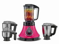 Preethi STORM MG237 750 Mixer Grinder (4 Jars, Pink,Black)