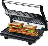 iBELL SM515 750 Watt Panini Grill Sandwich Maker Grill(Black)