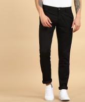 Arrow Sports Slim Fit Men Black Trousers