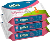 Little's Soft Cleansing Baby Wipes with Aloe Vera, Jojoba Oil and Vitamin E (80 N x 3 Pack of)(240 Wipes)