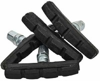 M Mod Con Pack of 4 Break Shoe for Bicycles Brake Shoe(Black)