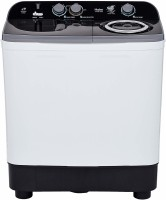 Haier 9.5 kg Semi Automatic Top Load Black, White, Grey(HTW95-186S)