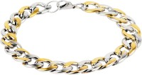 Fashion Frill Stainless Steel Sterling Silver Bracelet