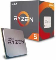 AMD Ryzen 5 2600 with Wraith Stealth Cooler (YD2600BBAFBOX) 3.4 Ghz Upto 3.9 GHz AM4 Socket 6 Cores 12 Threads 3 MB L2 16 MB L3 Desktop Processor(Silver)