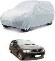 GIFFEN Car Cover For Maruti Suzuki Alto (Without Mirror Pockets)(Silver, For 2005, 2006, 2007, 2008, 2009, 2010, 2011, 2012, 2013, 2014 Models)