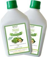 Bhumija Lifesciences Noni Juice (Sugar Free) Energy Drink(2x1 L, Unflavoured Flavored)