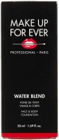 Make Up For Ever Water Blend Face and Body  Foundation(Peach, 50 ml)