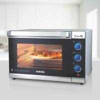 Borosil 48-Litre BOTG48CRS15 Oven Toaster Grill (OTG)(Black, Silver)