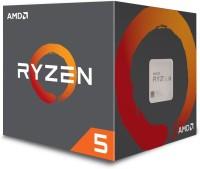 AMD Ryzen 5 1600 with Wraith Spire Cooler (YD1600BBAEBOX) 3.2 Ghz Upto 3.6 Ghz AM4 Socket 6 Cores 12 Threads 3 MB L2 16 MB L3 Desktop Processor(Silver)