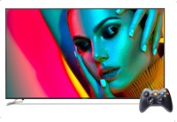 Motorola 189 cm (75 inch) Ultra HD (4K) LED Smart Android TV with Wireless Gamepad(75SAUHDM)