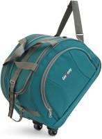 LeeRooY GREEN001 Duffel Strolley Bag(Green)