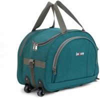 LeeRooY GREEN-120 Duffel Strolley Bag(Green)