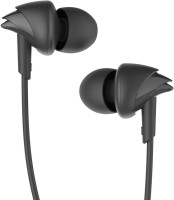 boAt BassHeads 100 Wired Headset(Black, Wired in the ear)