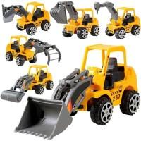 Kids Truck Mini Engineering Vehicle Car Model Excavator Boy Educational Toy Gift