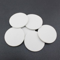 10Pcs Double Sided Adhesive Pads Round Tape for Car Windshield Dashboard Toy