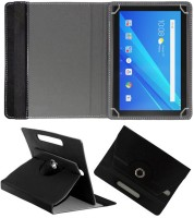 Fastway Flip Cover for Lenovo Tab 4 10.1 inch(Black, Cases with Holder)