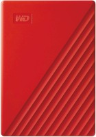 WD My Passport 2 TB External Hard Disk Drive(Red, Black)