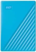 WD My Passport 4 TB External Hard Disk Drive(Blue, Black)
