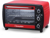 Brayden 18-Litre Krispo Oven Toaster Grill (OTG)(Peach Red)