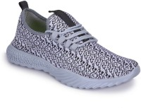 INDIANTRENDS Men'S Grey Comfortable Running/Gym/Sports Shoes