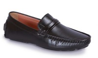 INDIANTRENDS Men'S Black Comfortable Casual Loafer