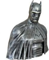 Uneeke Shape Batman bust : Antique design bust | showpiece toy | action super hero figure (Silver)(Silver)