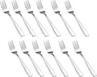 Royal Aakriti FORK 12 Stainless Steel Dinner Fork Set(Pack of 12)