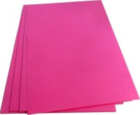 Offimart Copier Paper Unruled A4 75 gsm Copy Paper(Set of 100, Pink)