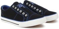 Woodland Monza Canvas Shoes For Men(Black)