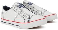 Woodland Monza Canvas Shoes For Men(White)