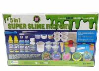 Ekta Latest 5 in 1 Super Slime Factory Making kit for Kids, Learn How to Make Your Favourite Slime in House