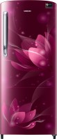 SAMSUNG 192 L Direct Cool Single Door 4 Star Refrigerator(Saffron Red, RR20N172YR8/HL)