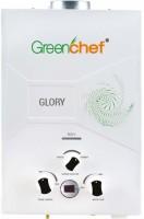 Greenchef 6 L Gas Water Geyser (Glory Digital ISI, White)