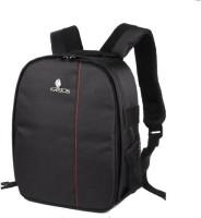 Kratos DSLR SLR Lens Shoulder Backpack Case with Rain cover for Canon Nikon Sigma Olympus Camera Bag (Black)