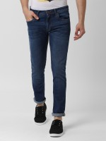 Peter England University Skinny Men Light Blue Jeans