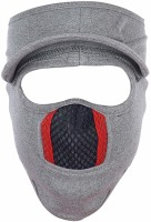 Flipkart SmartBuy Grey Bike Face Mask for Men & Women(Size: Free,  Balaclava)