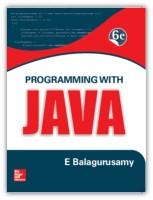 PROGRAMMING WITH JAVA - A Primer(English, Paperback, Balagurusamy E)