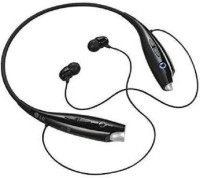 InEffable HBS-730 Wireless/bluetooth Headset Compatible ALL MOBILES HBS 004 Bluetooth Bluetooth Headset with Mic(black, In the Ear)