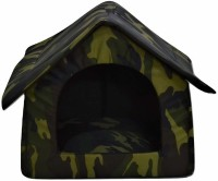 Foodie Puppies Armyprint Light Weight & Soft Designer Luxurious Foldable Pet Tent Kennel House for Puppies & Dogs Dog, Cat House