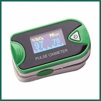 Romsons Oximeter Digital Fingertip Blood Pressure GS-9006 Bp Monitor(Green, Grey)